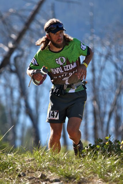 Nick Clark at last year's Western States (credit: Photo/ Glenn Tachiyama)