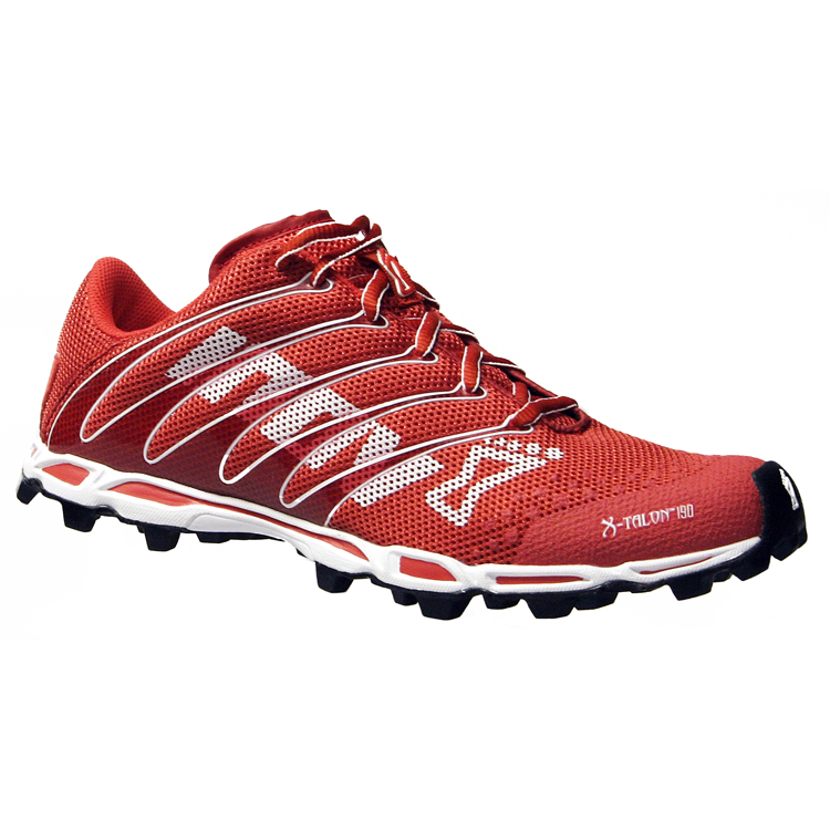 Inov8 Talon 190s are on the minimal side and a preferred choice of shoe my many trail runners