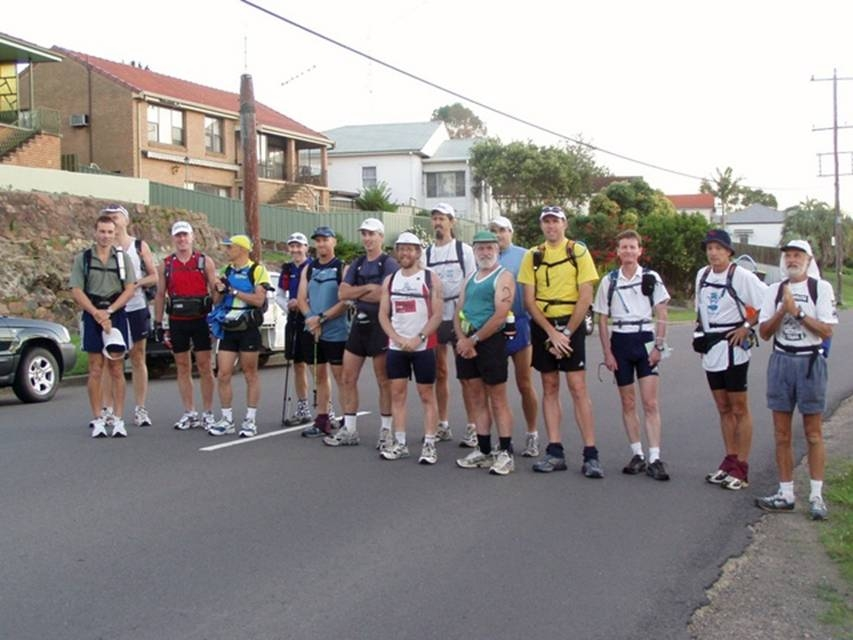 The first GNW 100 in 2005. There were 13 - 100 mile starters (4 finishers) and 2 - 100km starters (2 finishers)