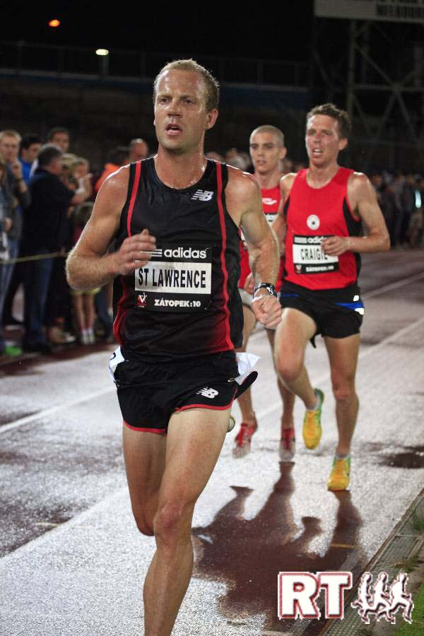 Ben St Lawrence - Image courtesy of Runners Tribe