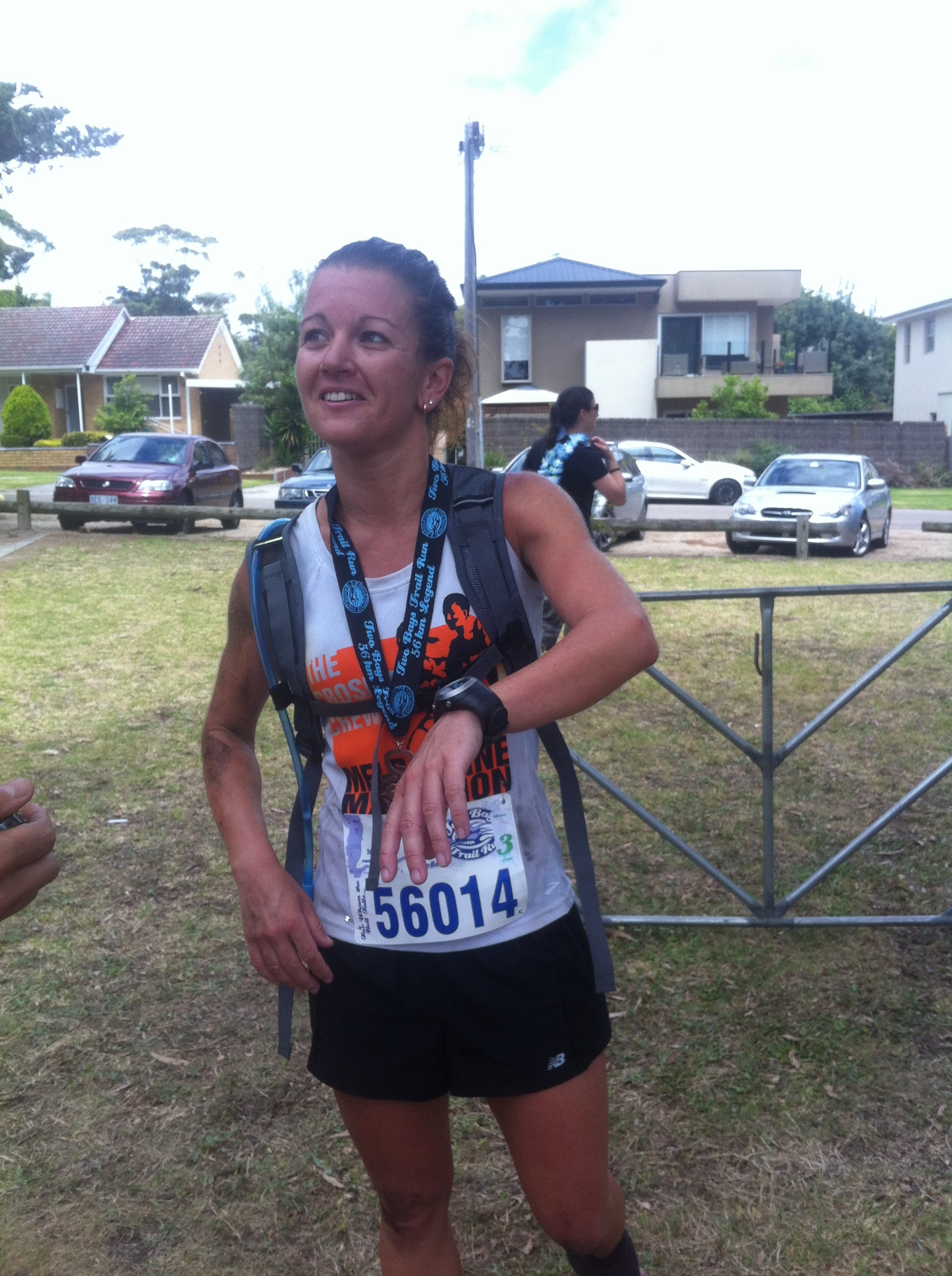 Kirsten Bull takes out the Two Bays Ultra