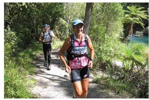 Tarawera runs by some stunning lakes and through beautiful forests too