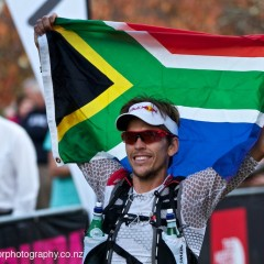 Ryan Sandes and Beth Cardelli take the honours at the North Face 100