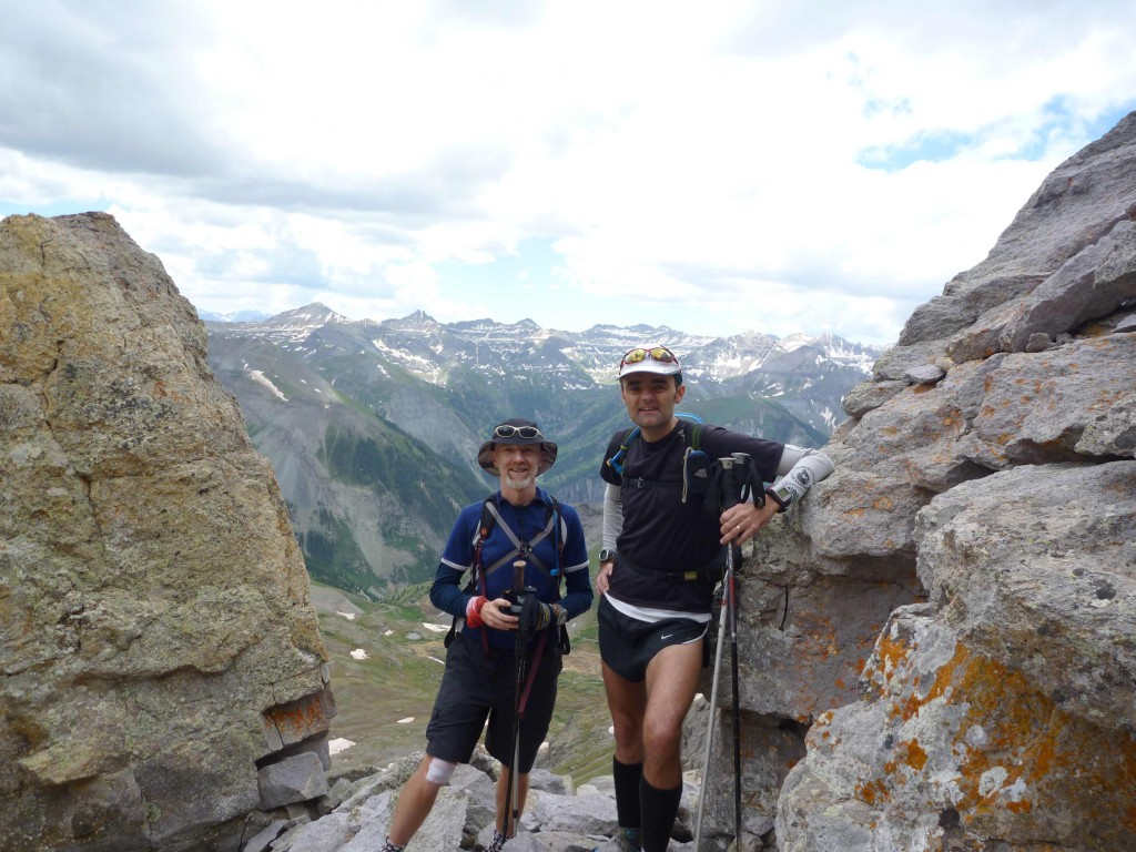 Andy and Spud at HR100