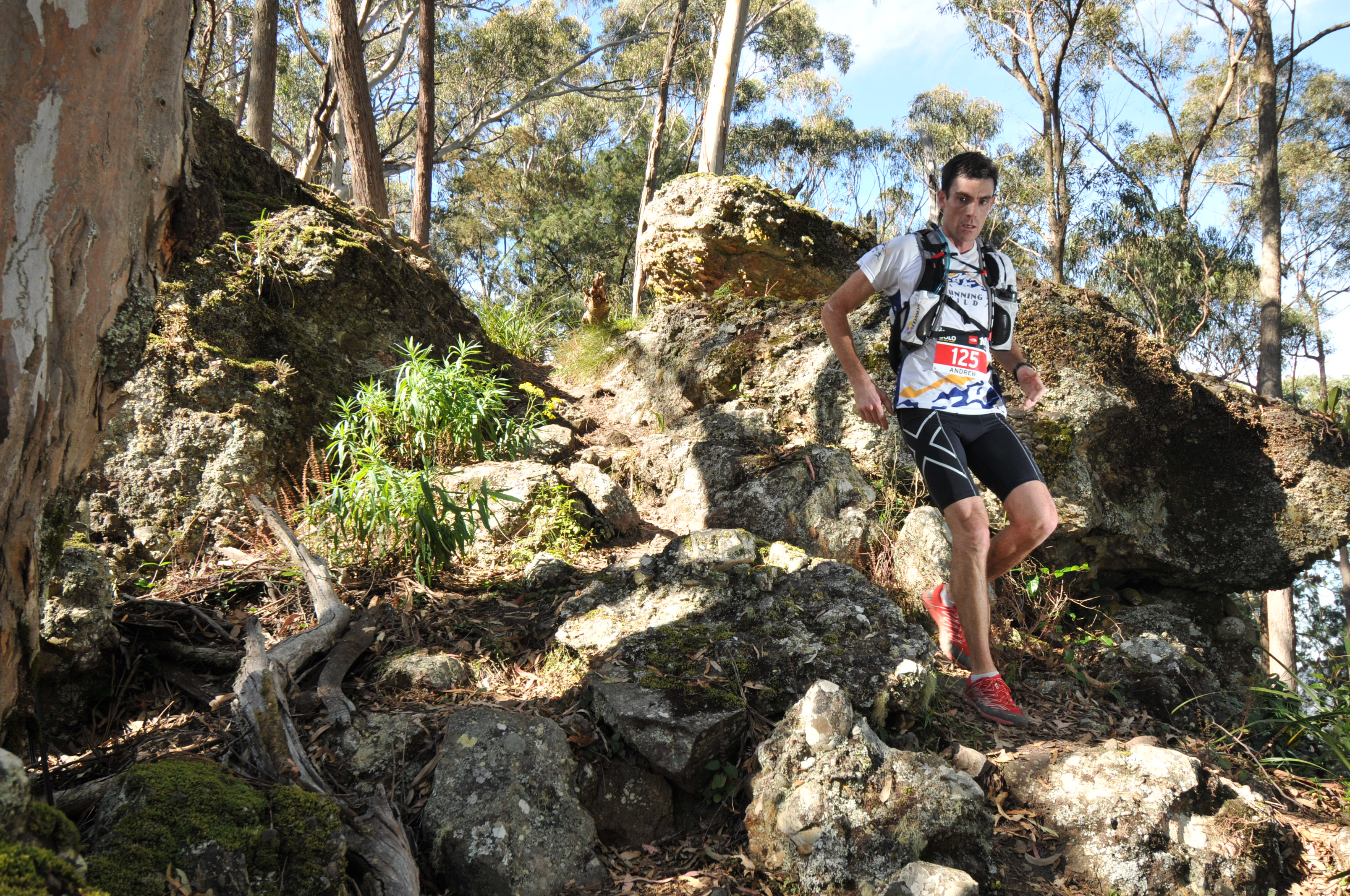 Andrew at the 2012 TNF100 Australia