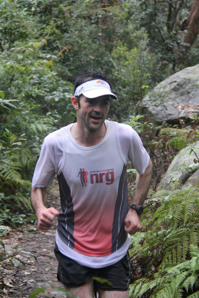 Sam on the trails with NRG - big supporters of 6ft track.