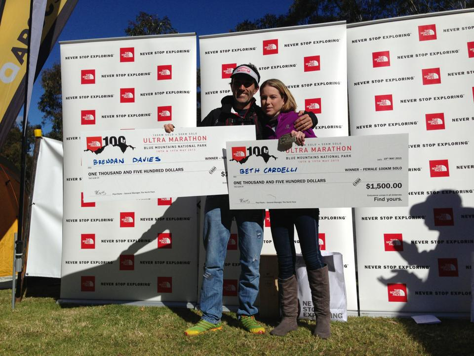 Beth and Brendan dominated TNF100 in 2013