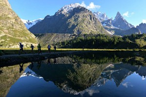 Many people travel from all over the world to race in France and at UTMB