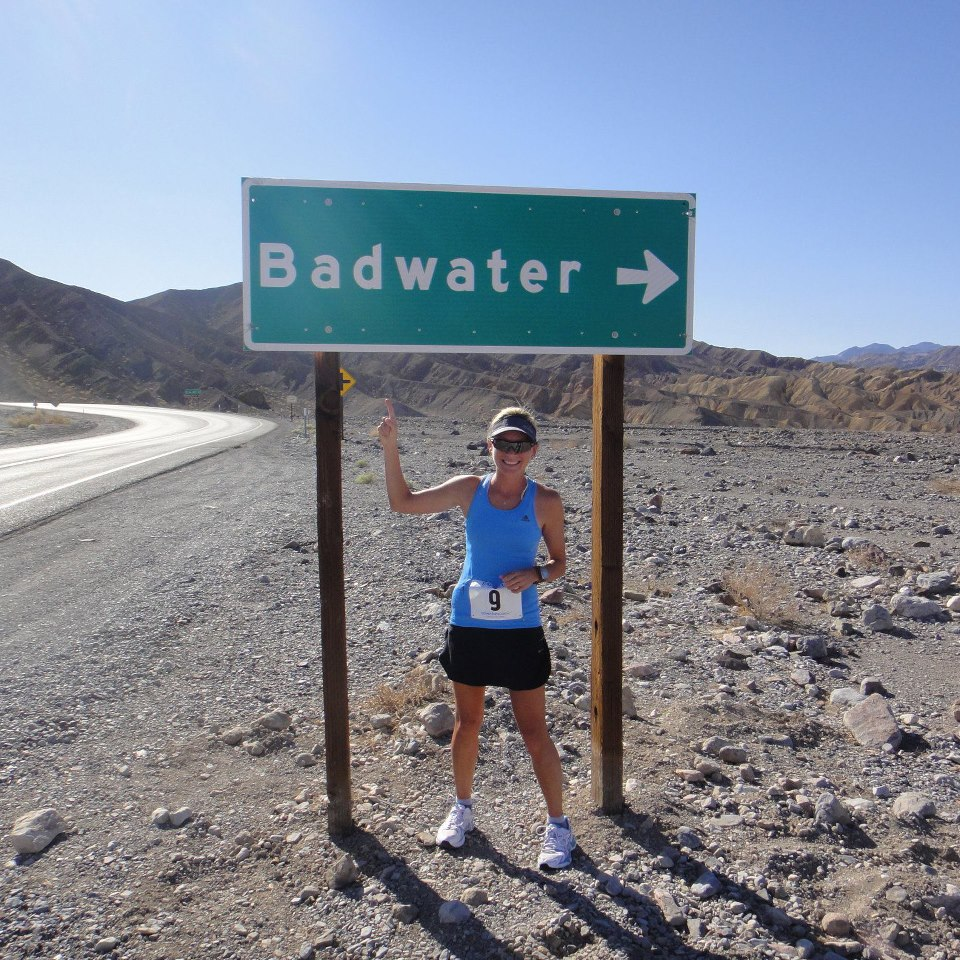 Cath is a Dubai-based Aussie winning Badwater in 2013