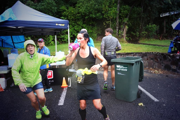Jo at the Tarawera Ultra earlier this year (copyright Byron Powell - irunfar)