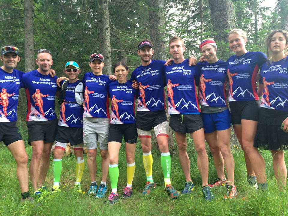 A first appearance for the ANZ Skyrunning team at the World Championships - certainly not there to make up the numbers!