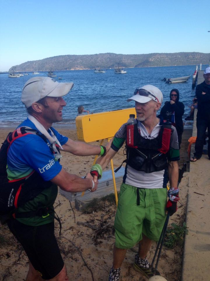 Another finish for one of Australia's most celebrated (and understated) ultra runners, Andy Hewat.