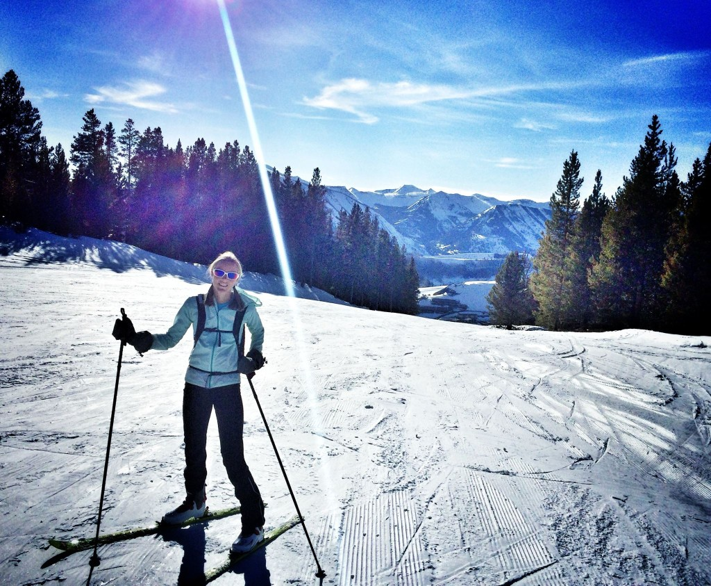 Just like the Spanish maestro, Kilian, Stephanie is a highly accomplished skier.