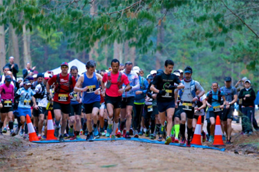 The start line for the inaugural Southern Highlands Challenge last year