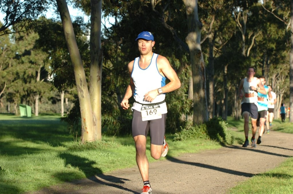 Dion at the Salomon Trail Series (Picture - Rapid Ascent)