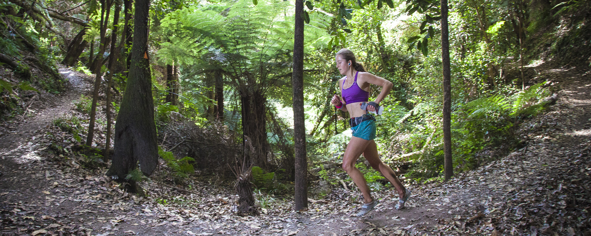 Ruby on her way to winning Tarawera