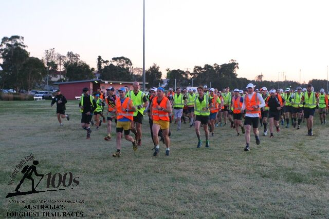 200 dust bin men and women off on a rather long run