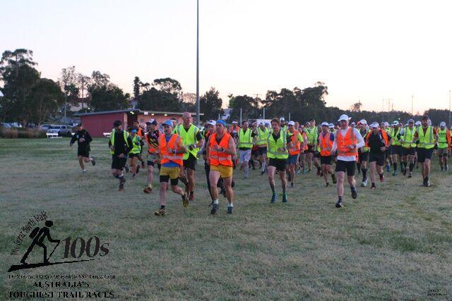 200 dust bin men and women off on a rather long run