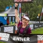 Fiona winning at Tarawera this year