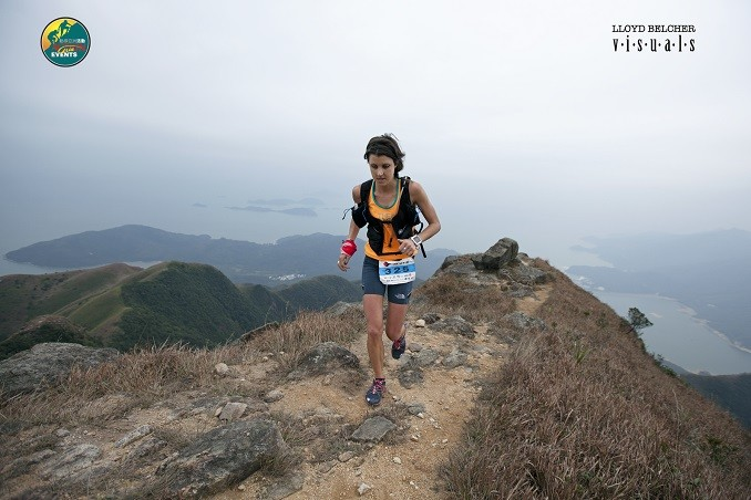 Ruth Croft in action at the Lantau 50 in Hong Kong