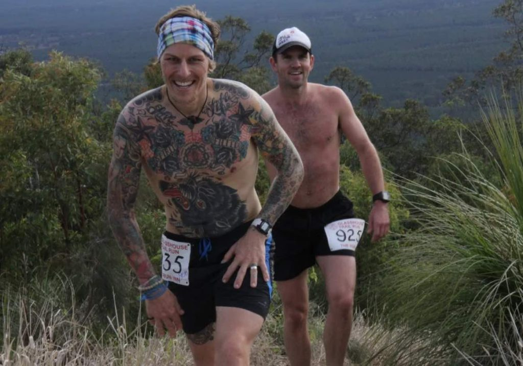 Mat Grills and Kieran O'Brien 2015 Photo Credit www.glasshousetrailseries.com