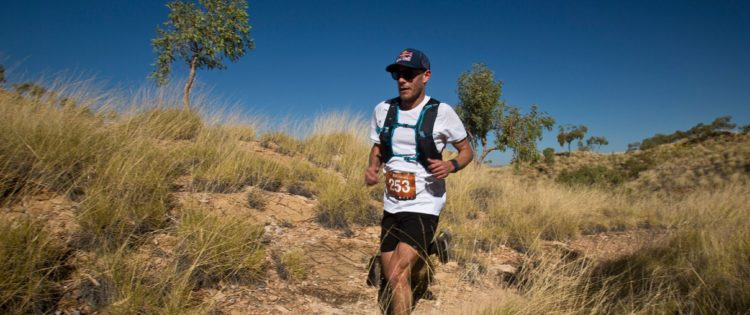 Troy Lum and Deb Nicholl victorious at Run Larapinta 2017