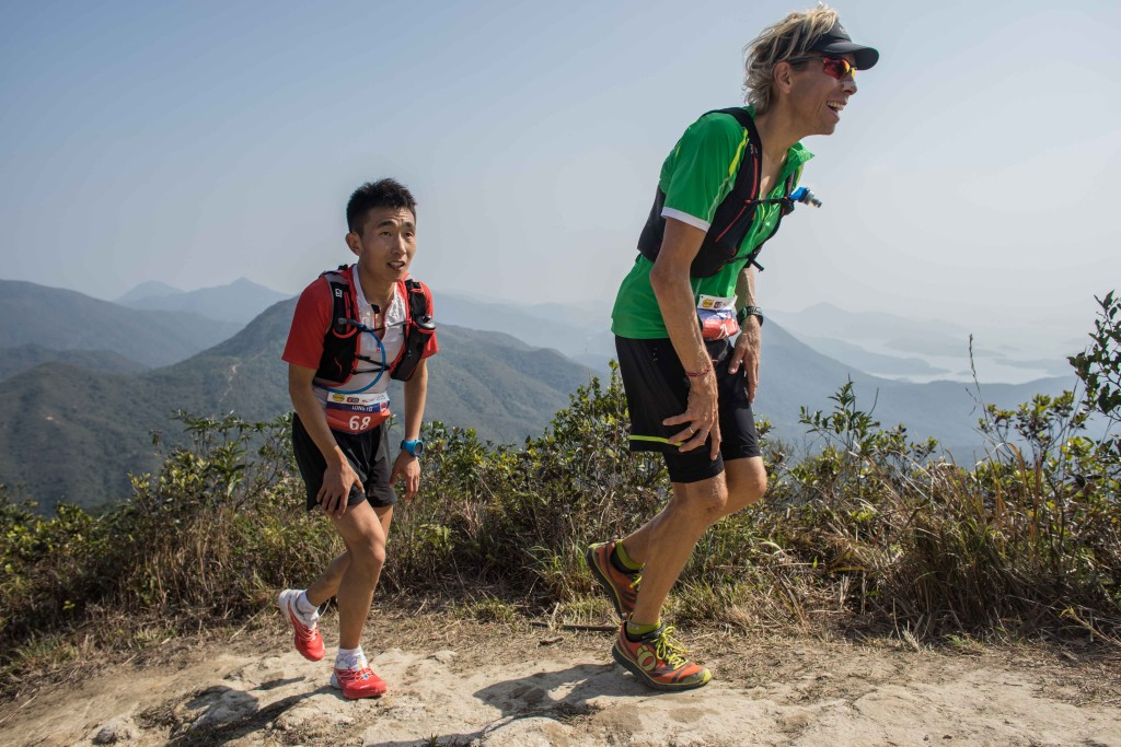 Yan Long Fei at the HK100 last year (Picture UTWT)