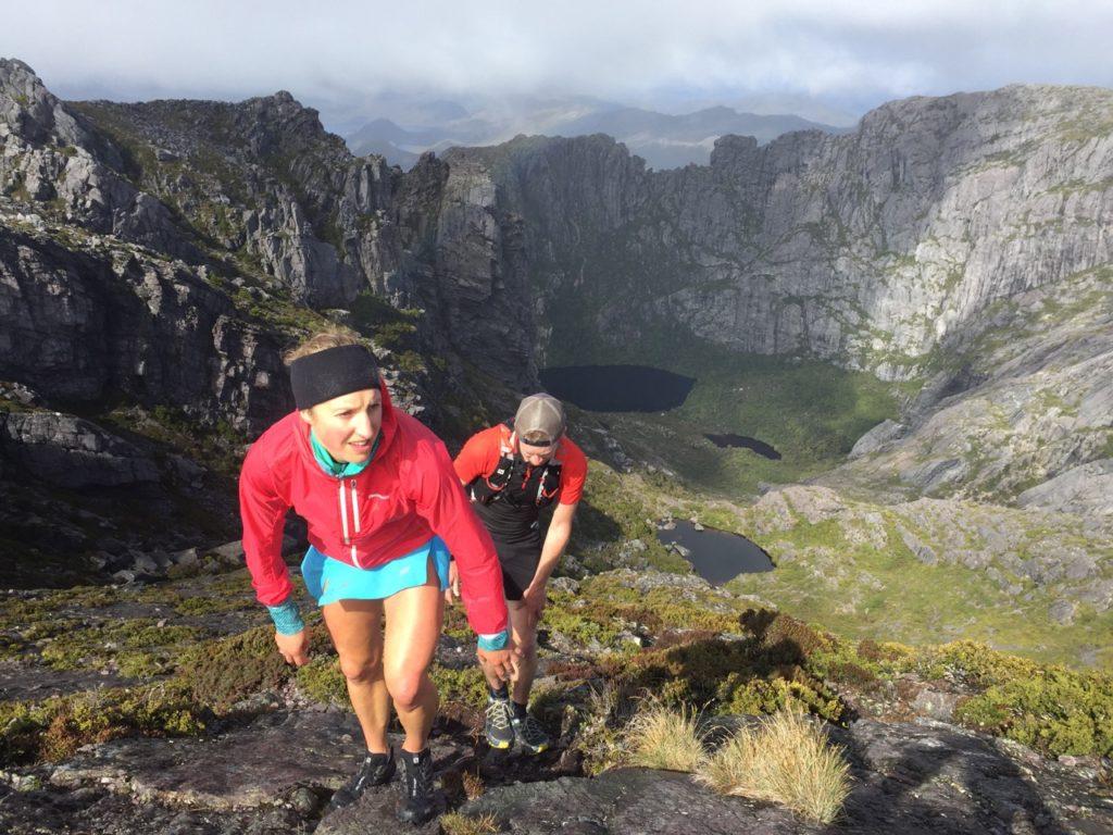 Hanny Allston and Graham Mt Murchison, West Coast Tasmania